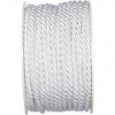 Cord diameter 04 mm, length 25 m, white